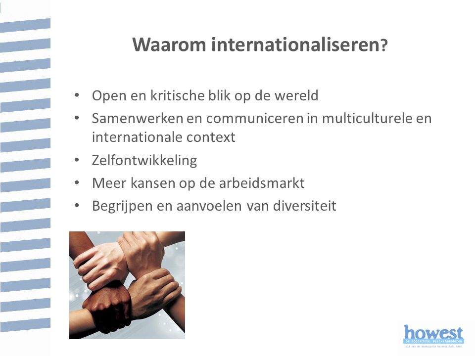 Waarom internationaliseren