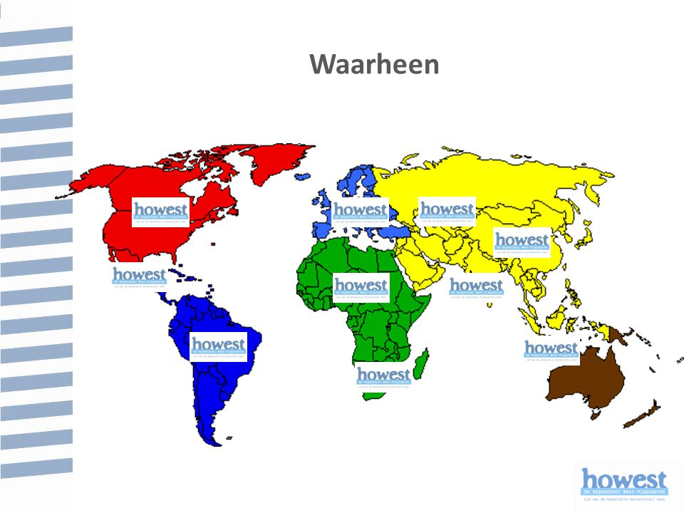 Waarheen Kan je je bestemming kiezen op deze wereldkaart JA EN NEEN
