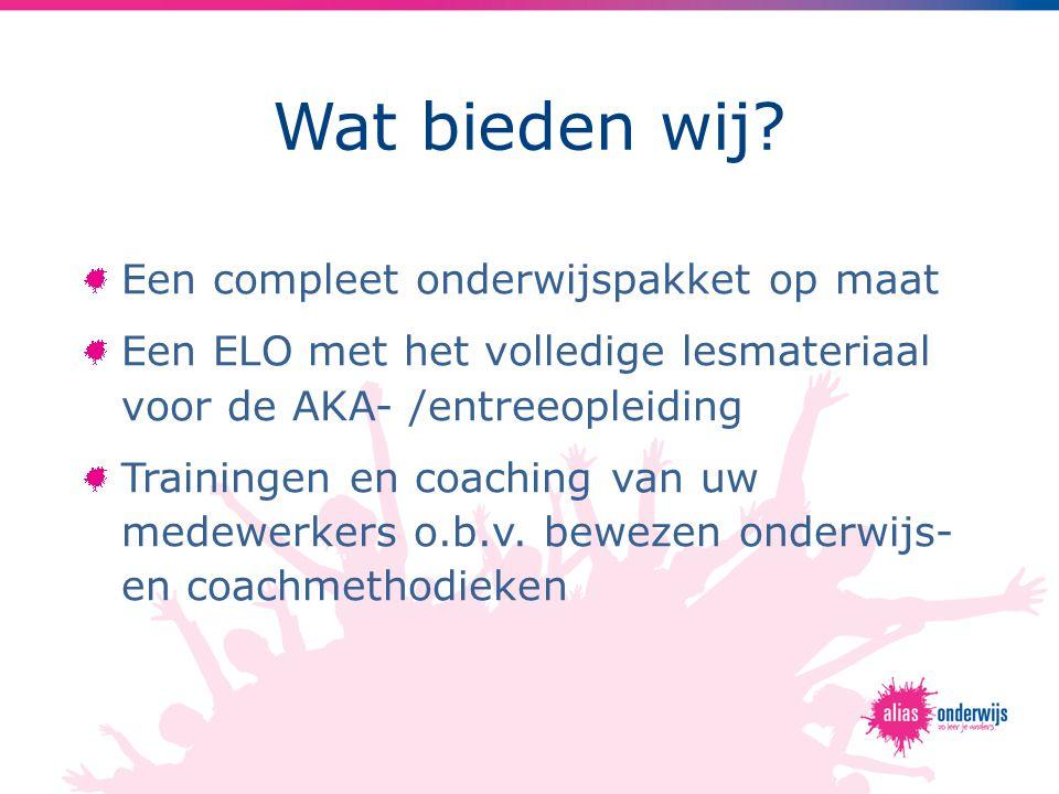 De voordelen Digitaal onderwijs + coaching verhoogt leerrendement (actief leren vs. instructief leren)