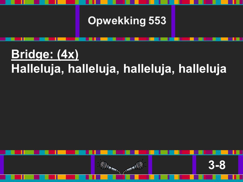 Halleluja, halleluja, halleluja, halleluja