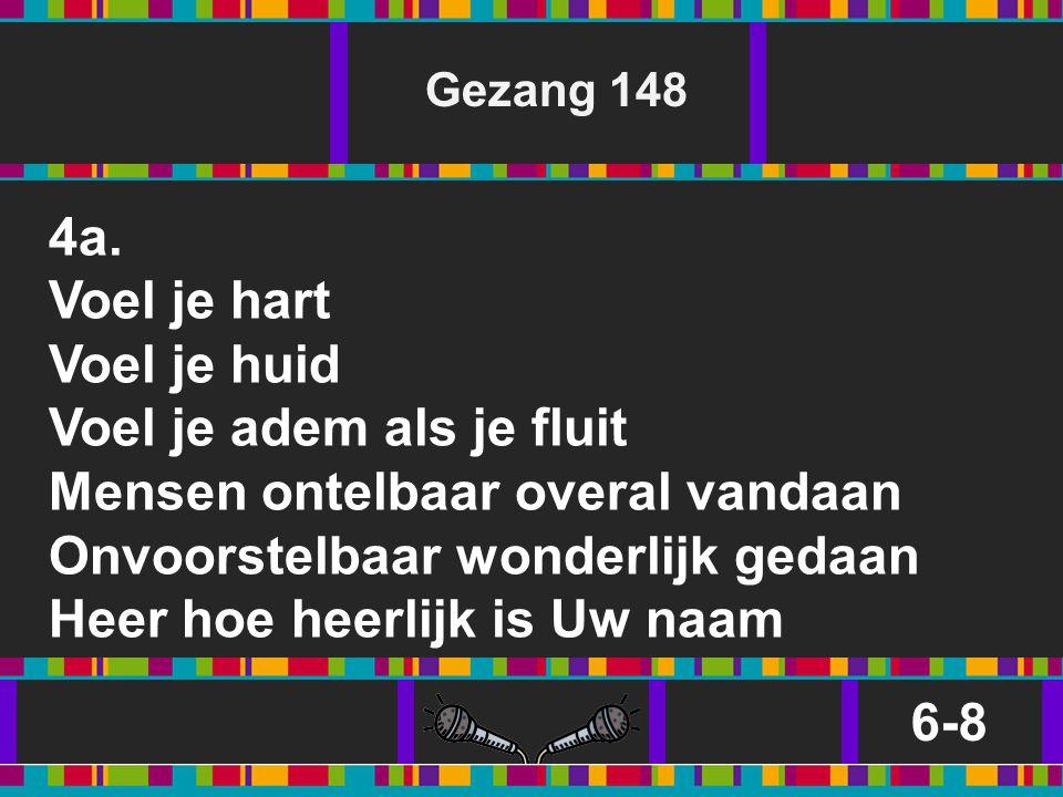 Gezang 148 4a.