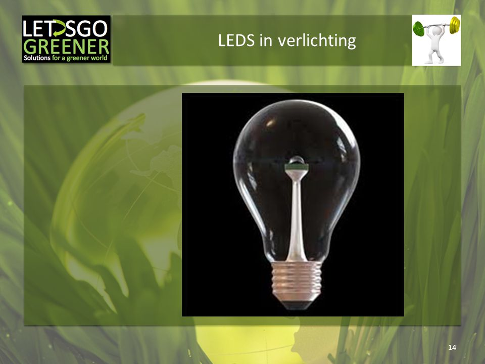 LEDS in verlichting
