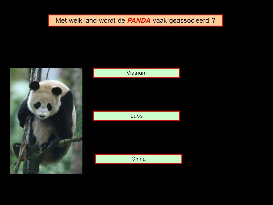 Met welk land wordt de PANDA vaak geassocieerd