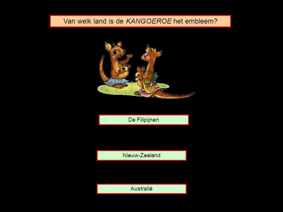Van welk land is de KANGOEROE het embleem