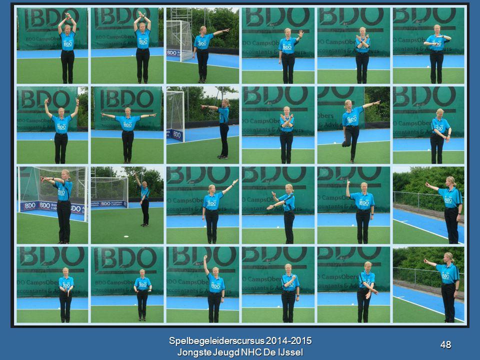 Spelbegeleiderscursus 2014-2015 Jongste Jeugd NHC De IJssel