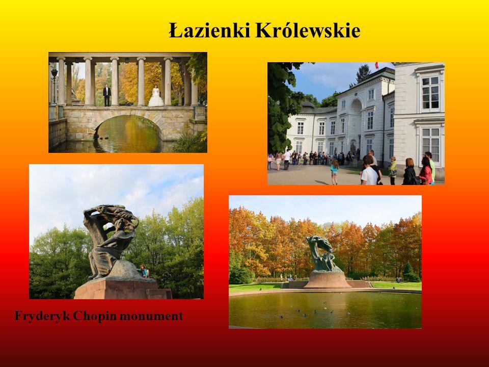 Łazienki Królewskie Fryderyk Chopin monument