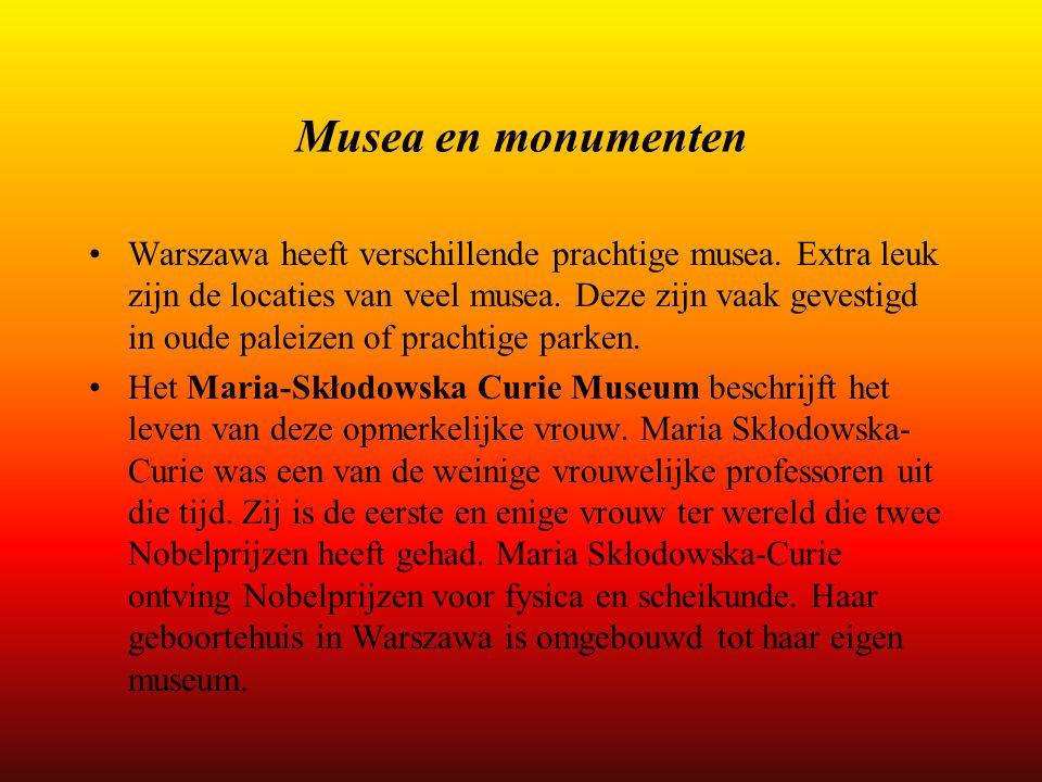 Musea en monumenten