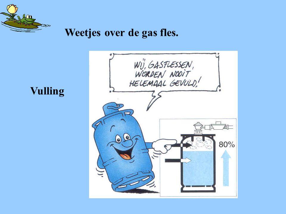 Weetjes over de gas fles.