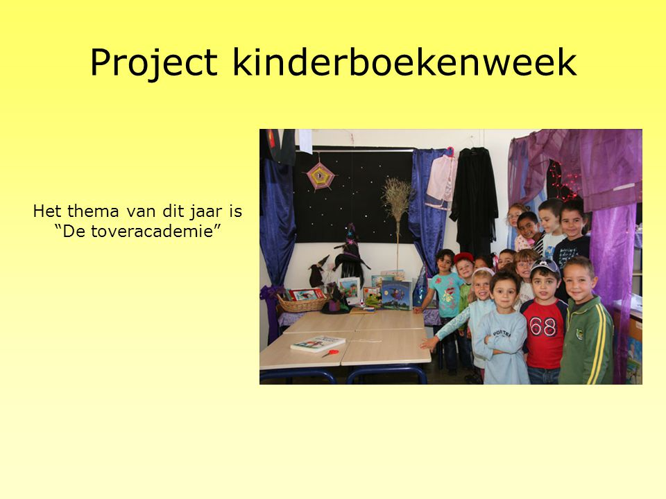 Project kinderboekenweek
