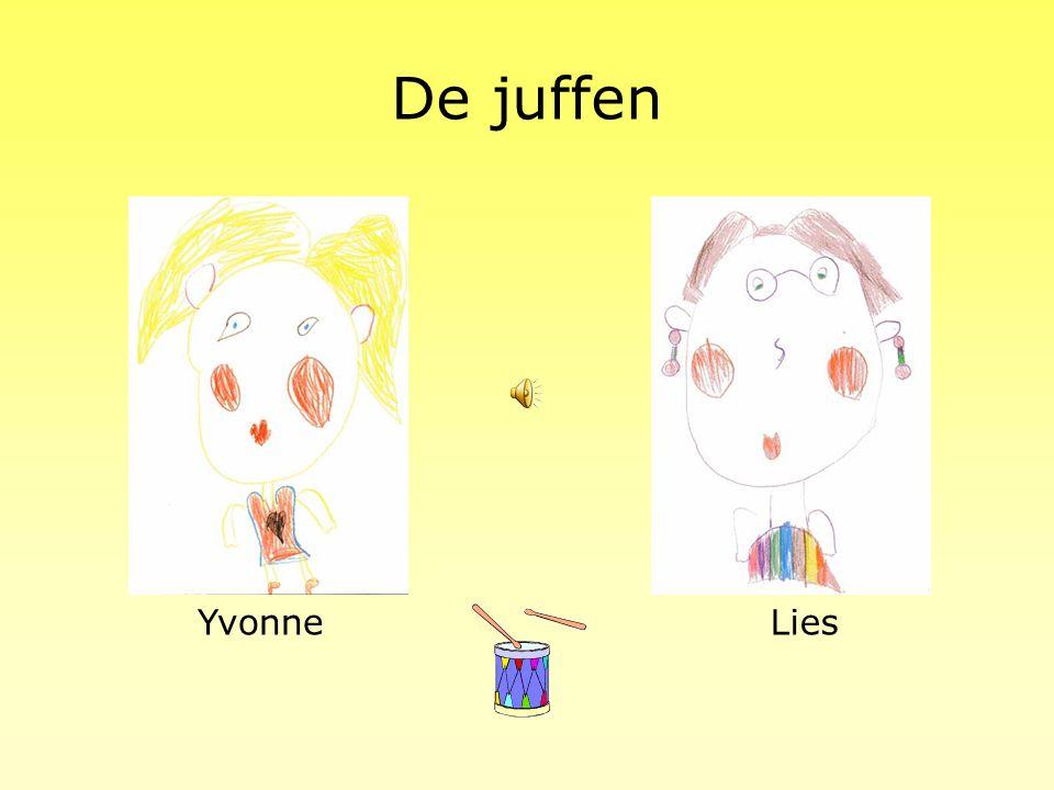 De juffen Yvonne Lies