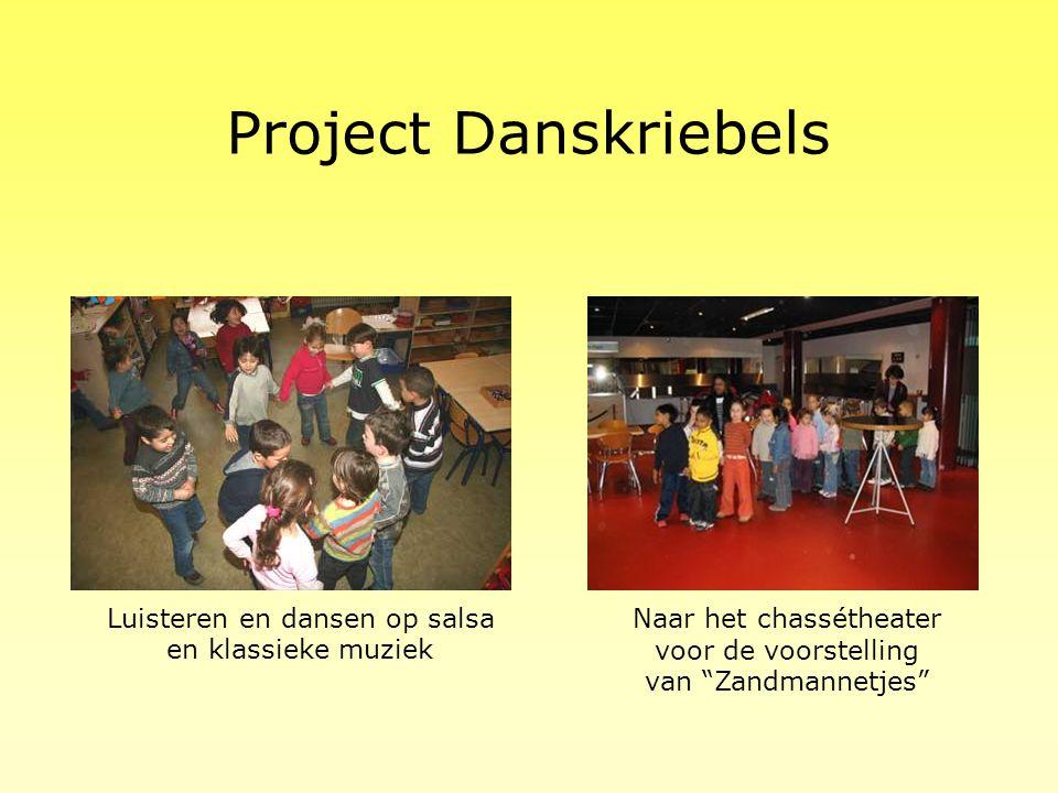 Project Danskriebels Luisteren en dansen op salsa en klassieke muziek