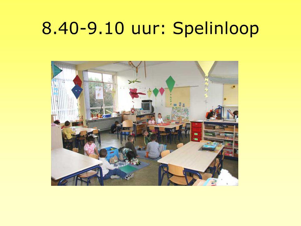 8.40-9.10 uur: Spelinloop