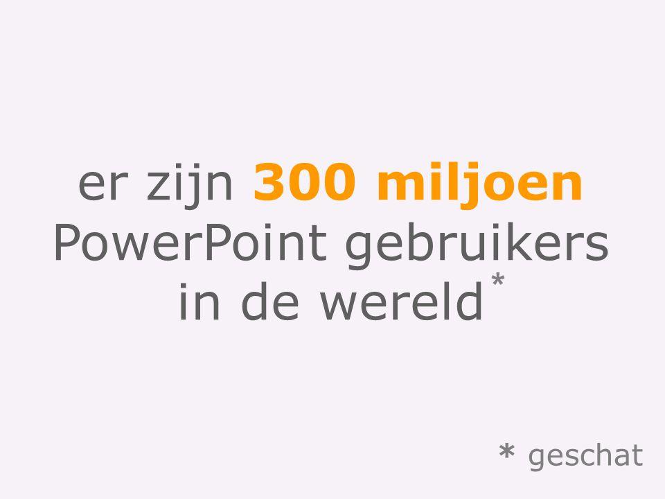 PowerPoint gebruikers