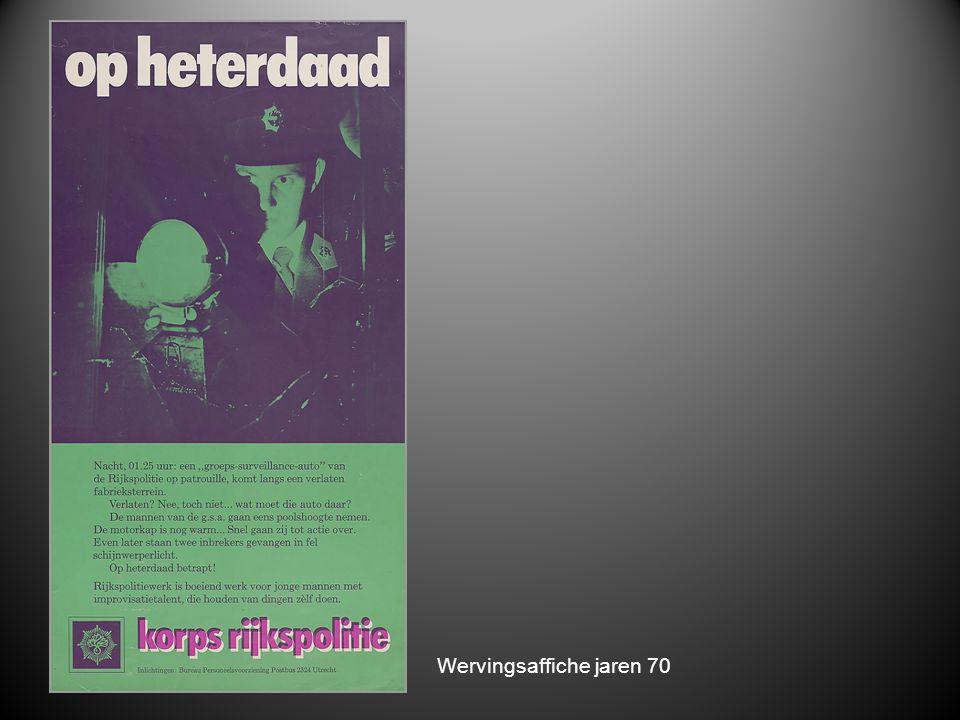 Wervingsaffiche jaren 70