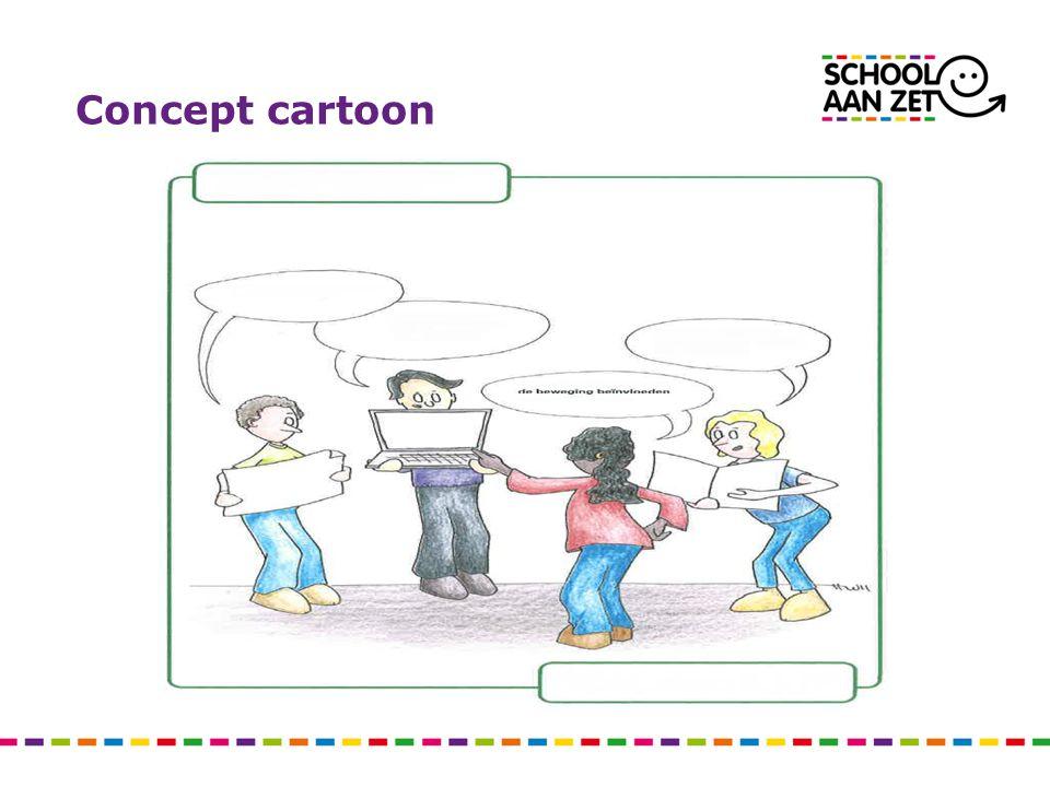 Concept cartoon ONDERZOEKEND excelLEREN