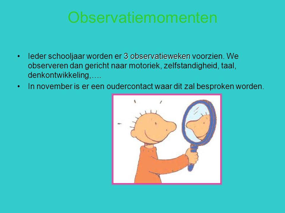 Observatiemomenten
