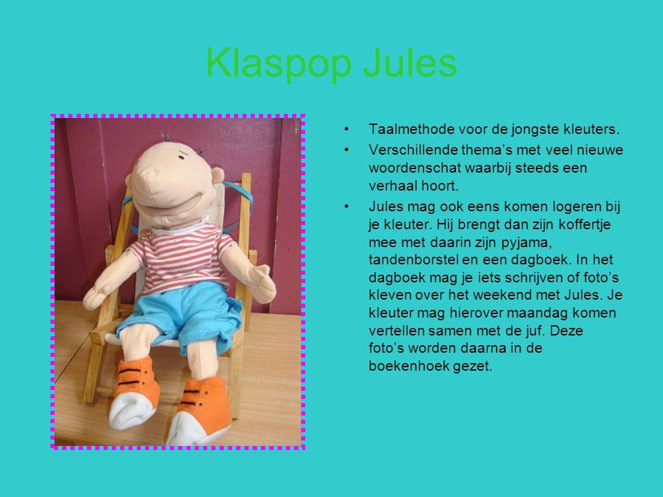 Klaspop Jules Taalmethode voor de jongste kleuters.