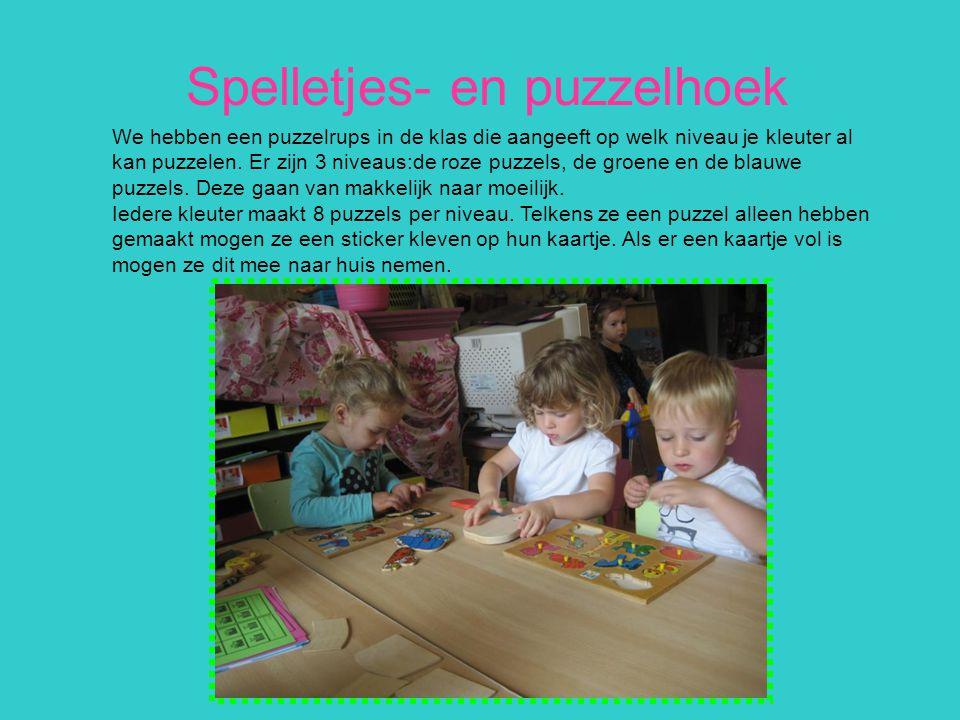 Spelletjes- en puzzelhoek