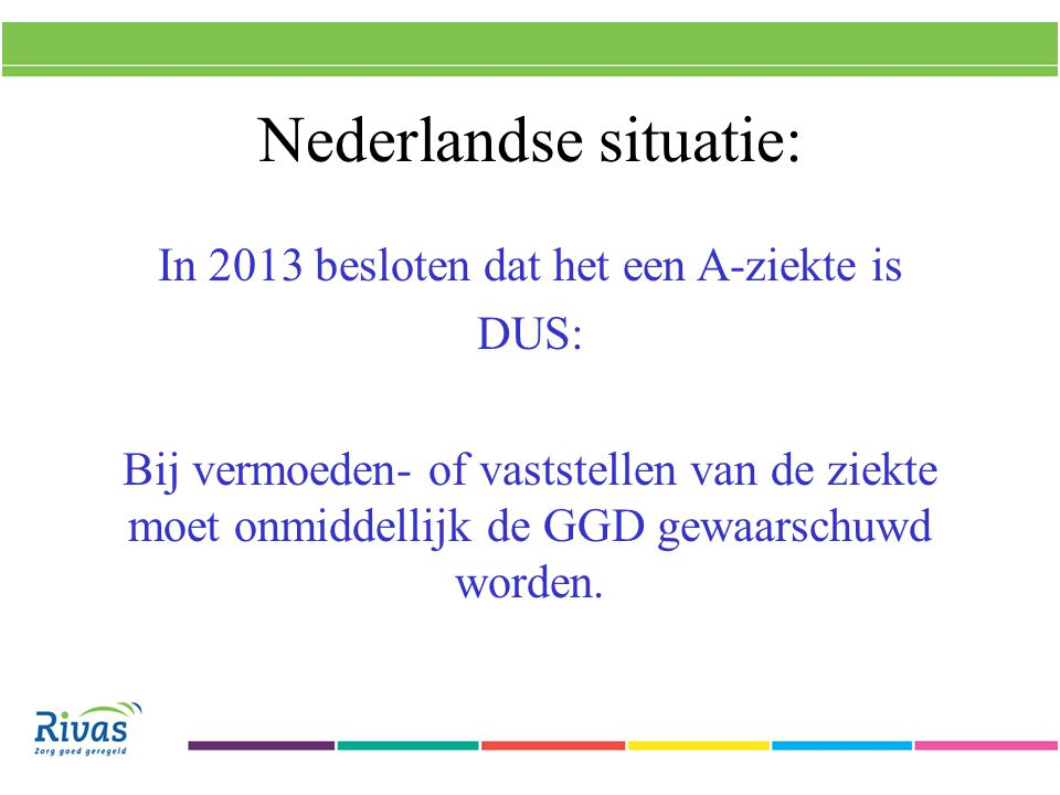 Nederlandse situatie: