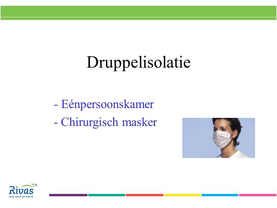 - Eénpersoonskamer - Chirurgisch masker
