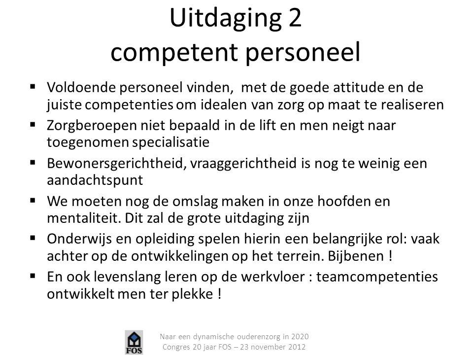 Uitdaging 2 competent personeel