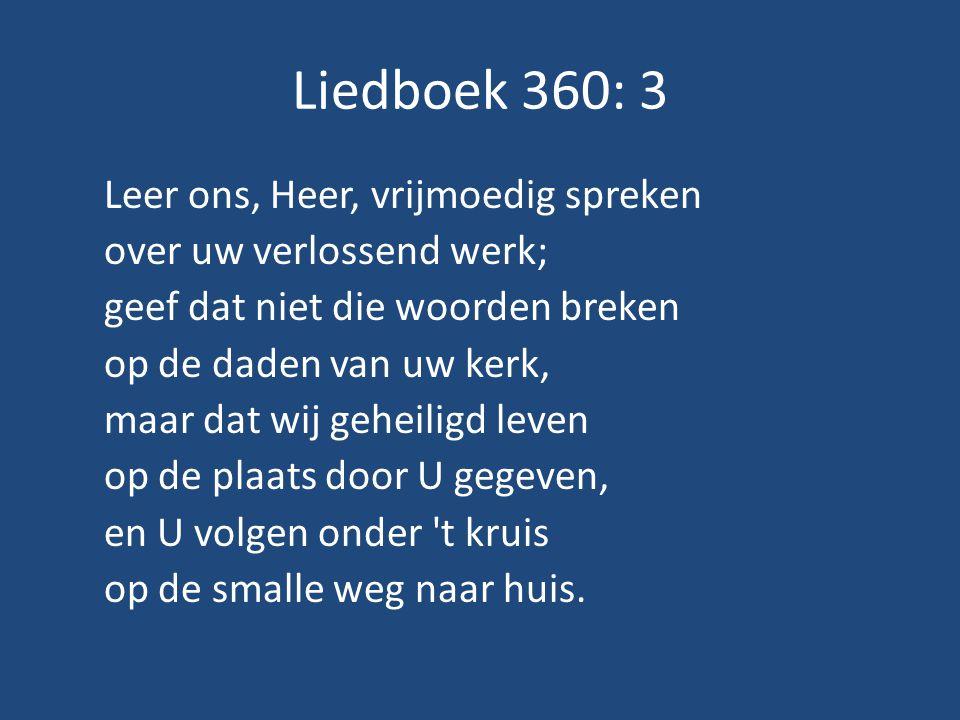 Liedboek 360: 3