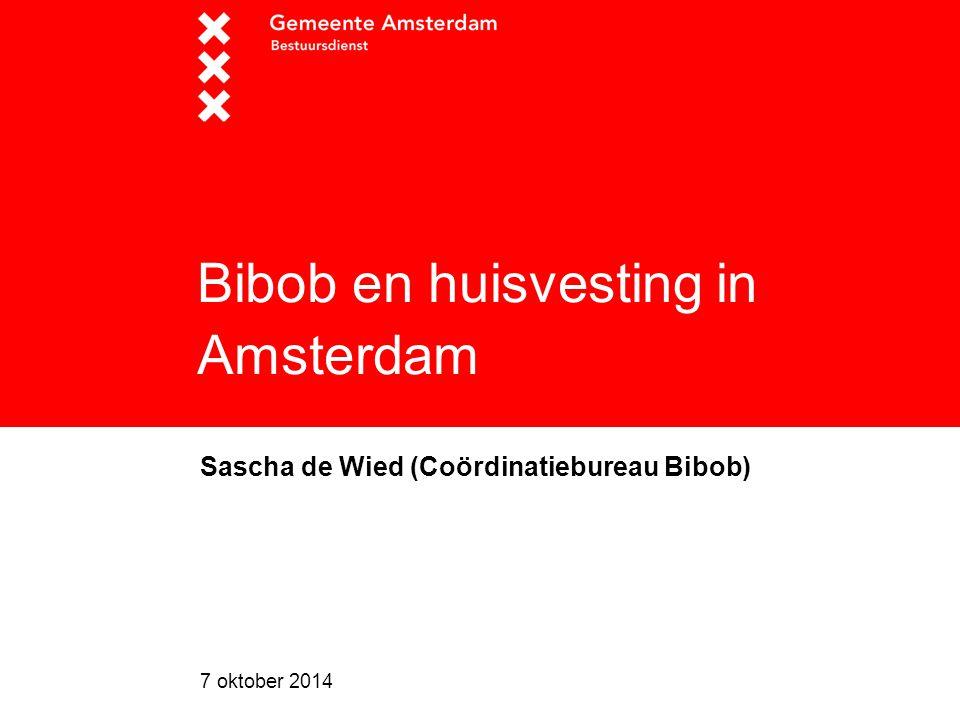 Bibob en huisvesting in Amsterdam