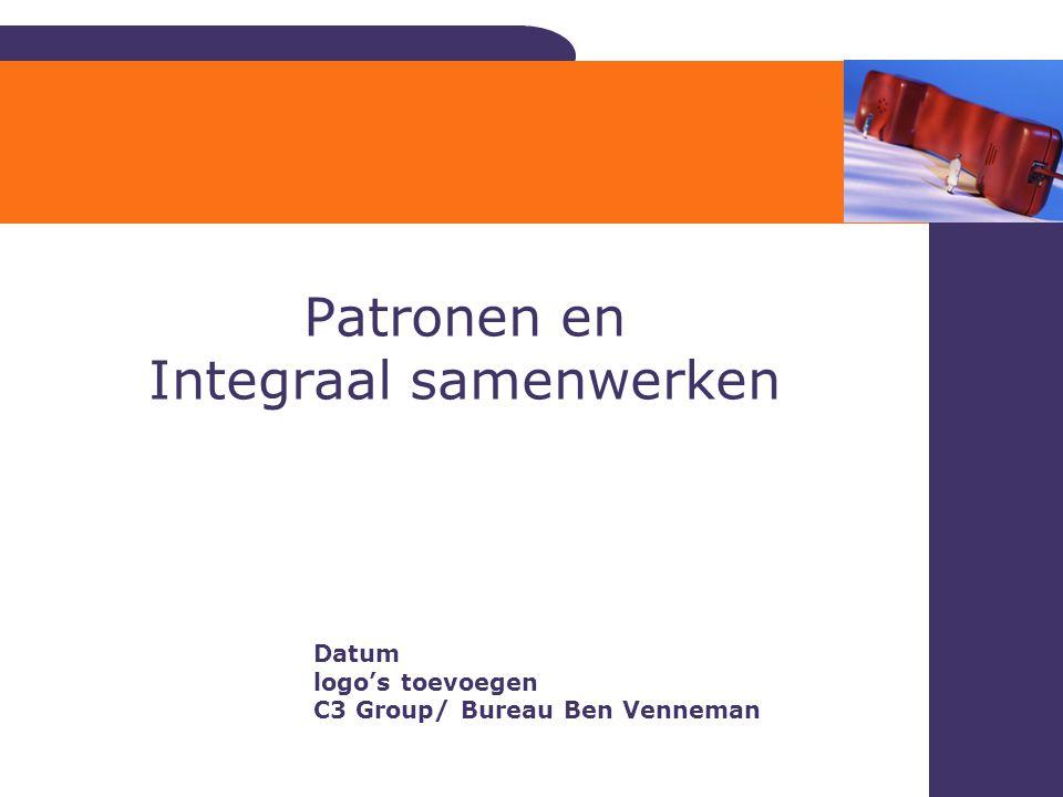 Patronen en Integraal samenwerken