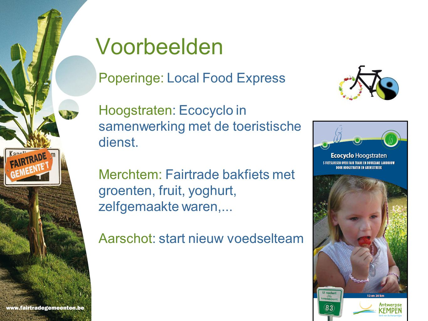Voorbeelden Poperinge: Local Food Express