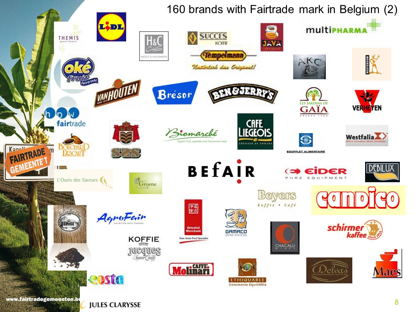 160 brands with Fairtrade mark in Belgium (2)