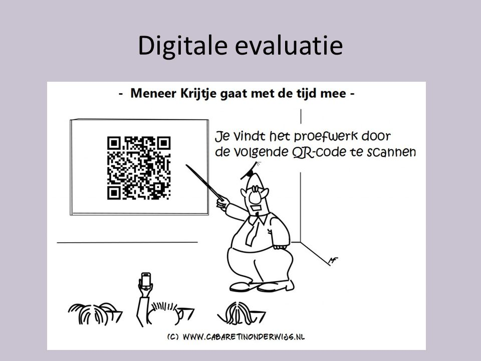 Digitale evaluatie