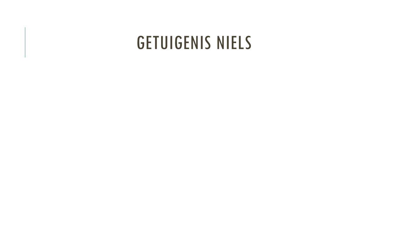 Getuigenis Niels