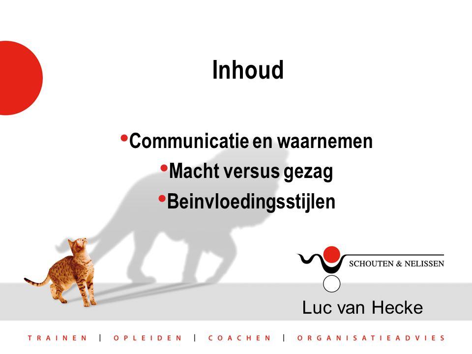 Communicatie en waarnemen Beinvloedingsstijlen