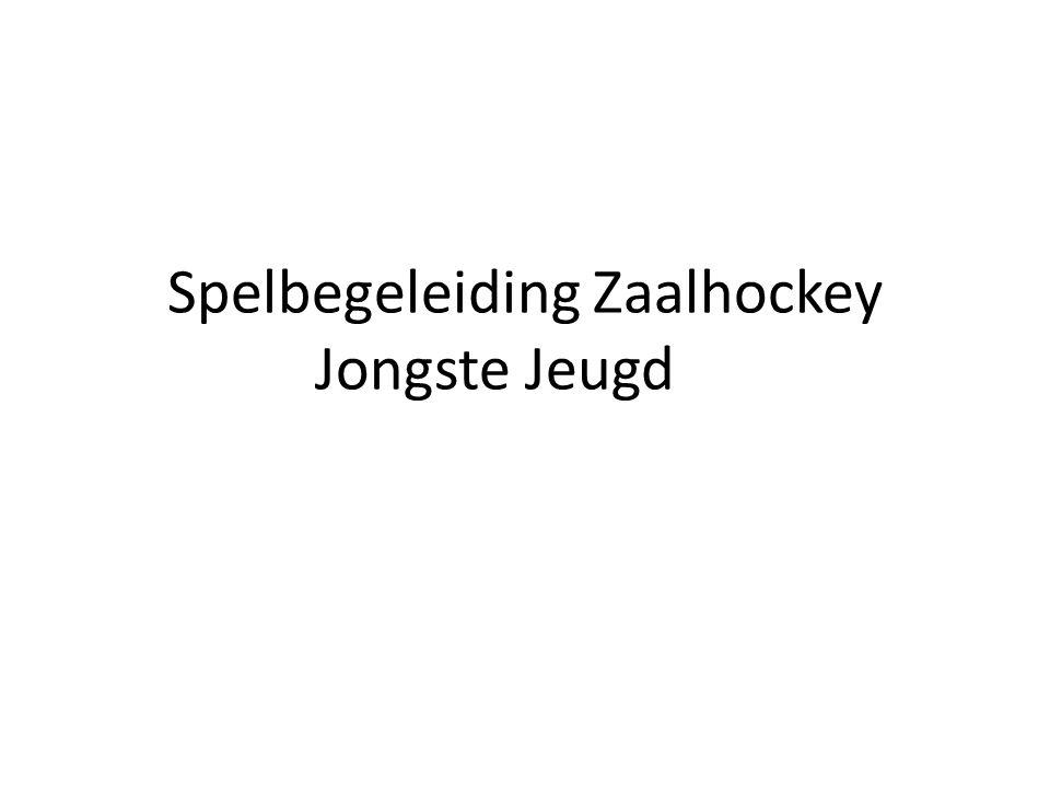Spelbegeleiding Zaalhockey Jongste Jeugd
