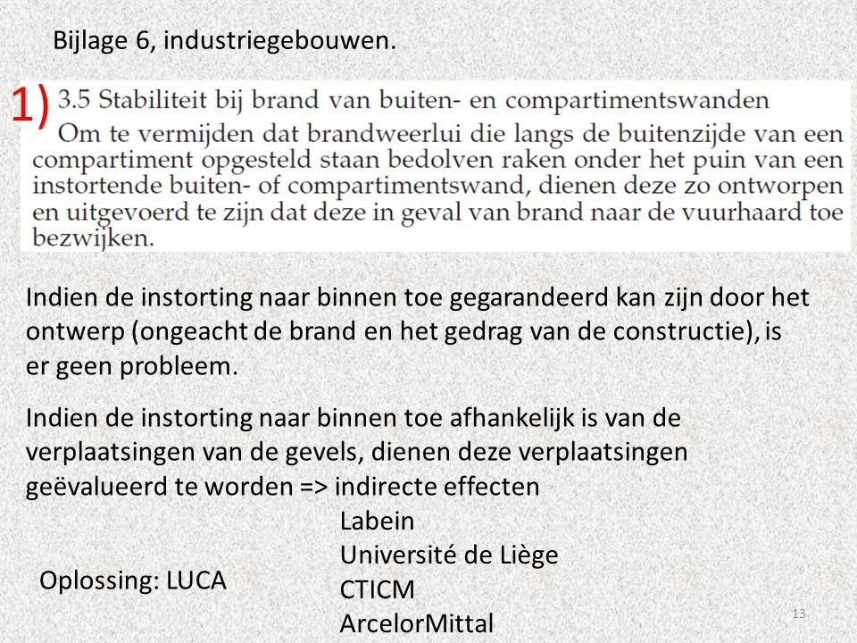 1) Bijlage 6, industriegebouwen.