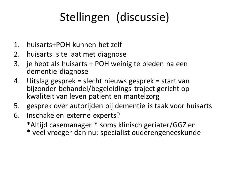 Stellingen (discussie)