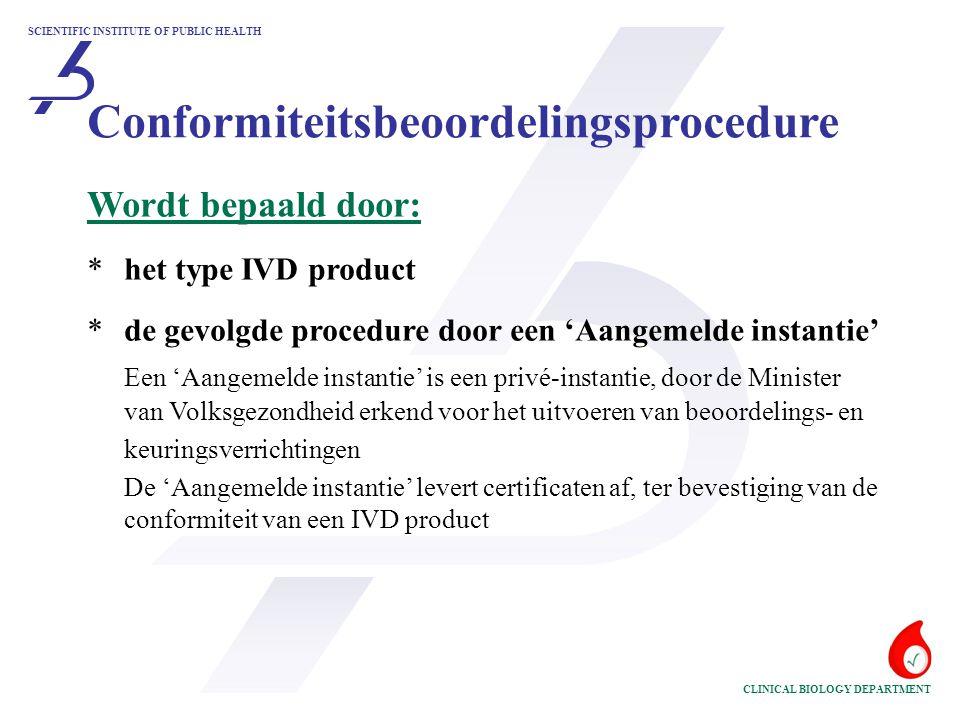 Conformiteitsbeoordelingsprocedure
