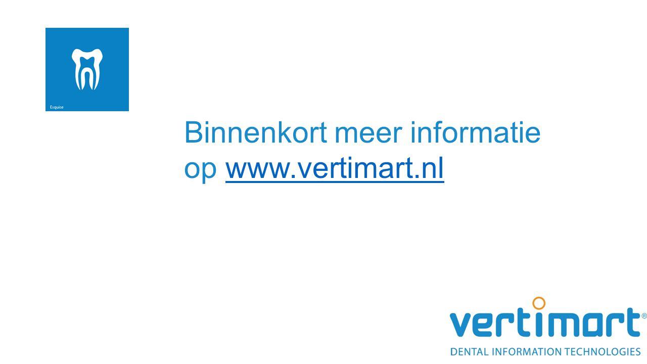 Binnenkort meer informatie op www.vertimart.nl