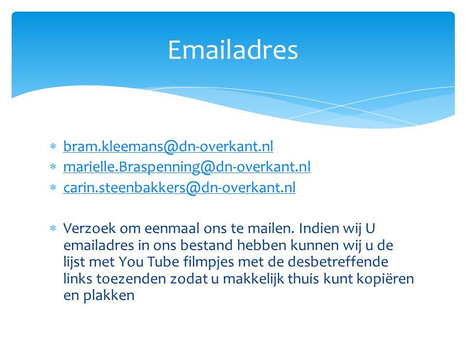 Emailadres bram.kleemans@dn-overkant.nl
