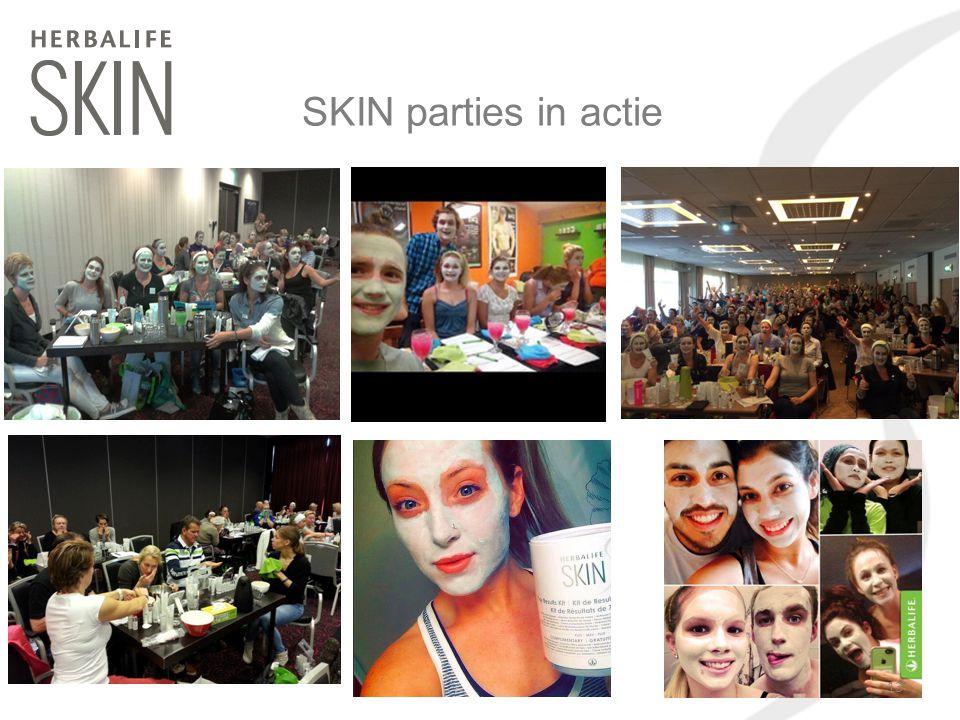 SKIN parties in actie