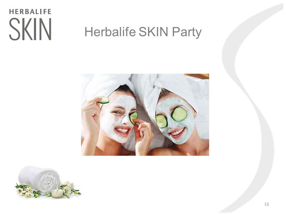 Herbalife SKIN Party