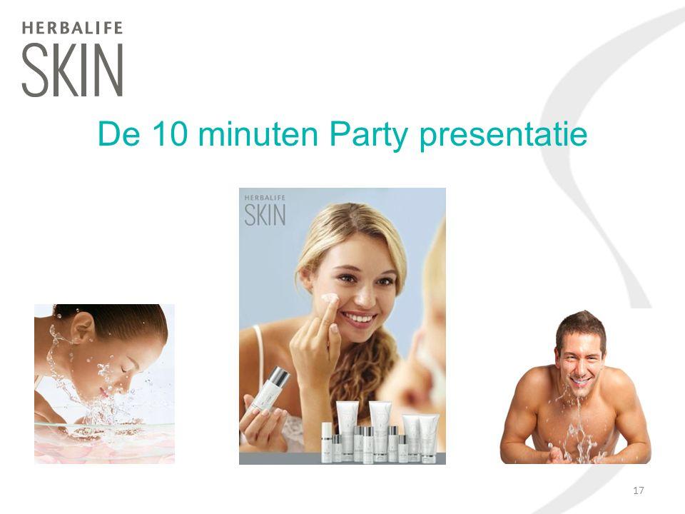 De 10 minuten Party presentatie