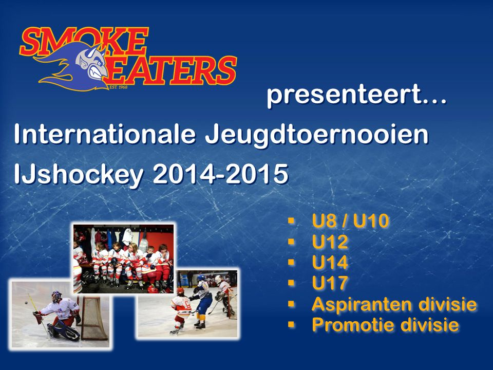 Internationale Jeugdtoernooien IJshockey 2014-2015