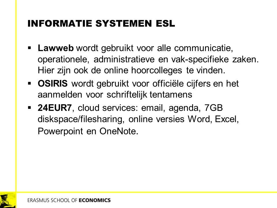 Informatie systemen esl