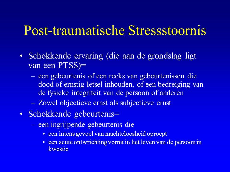 Post-traumatische Stressstoornis