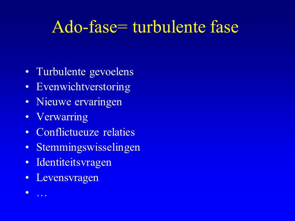 Ado-fase= turbulente fase