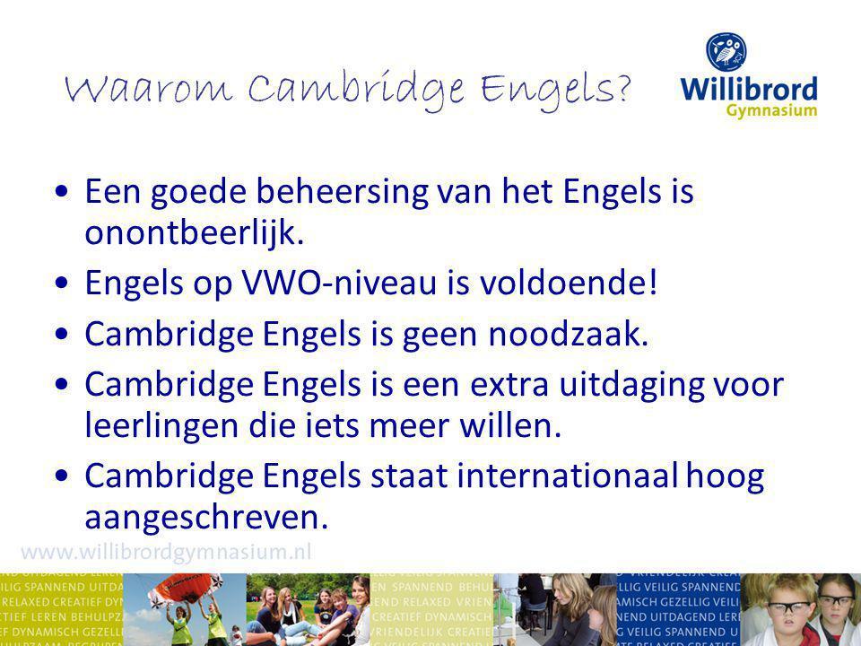 Waarom Cambridge Engels