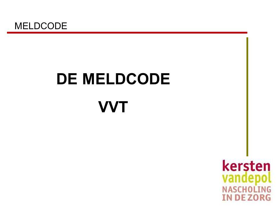 MELDCODE DE MELDCODE VVT