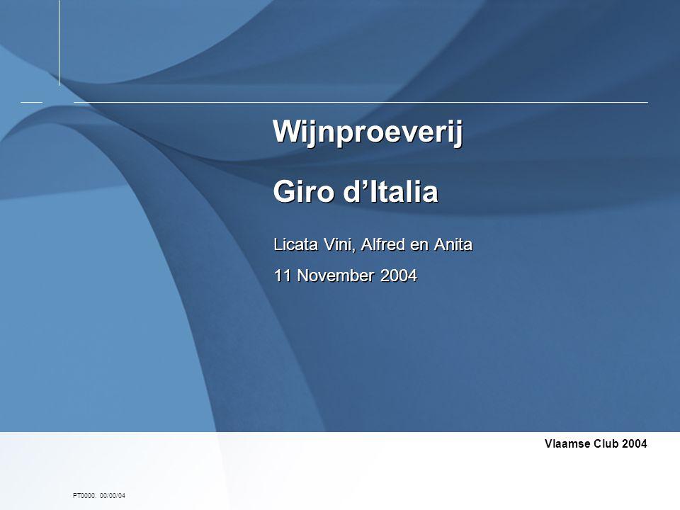 Wijnproeverij Giro d'Italia