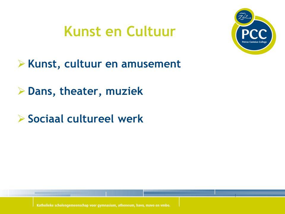 Kunst en Cultuur Kunst, cultuur en amusement Dans, theater, muziek